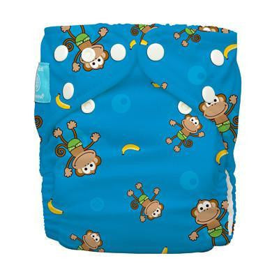 Charlie Banana Diaper 2 Inserts Monkey One Size