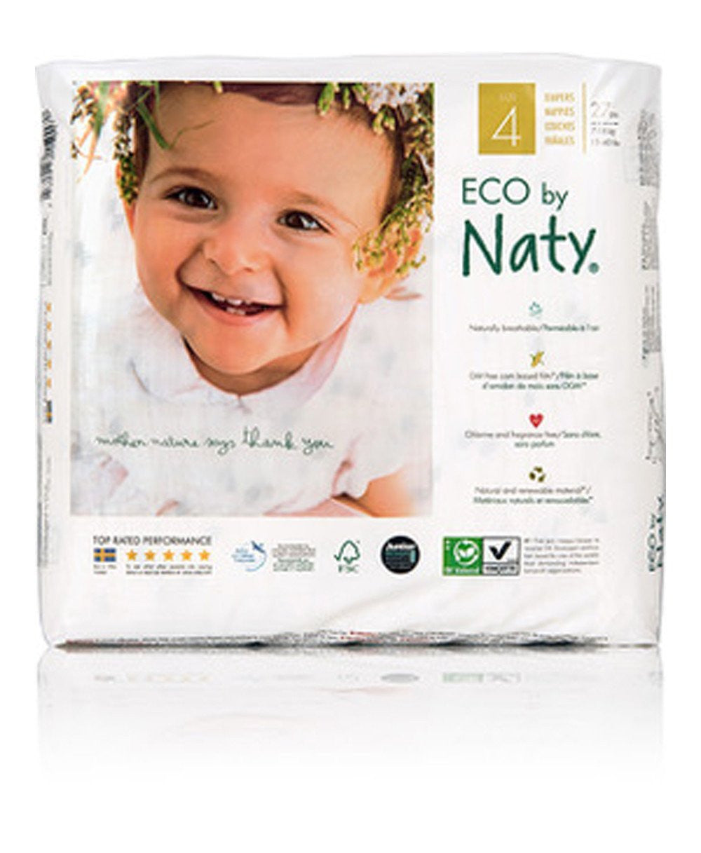 Naty Size 4 Biodegratable ECO Diapers