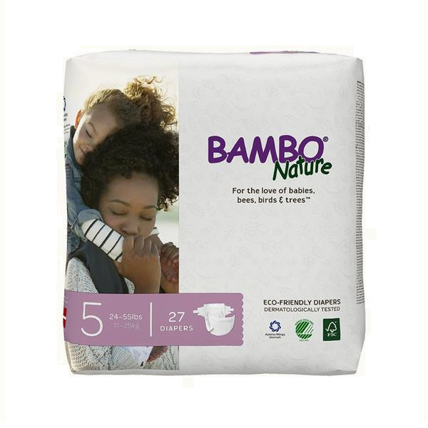 Bambo Nature Baby Diapers 5 Junior (27 pcs.)
