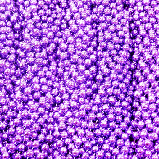 Beads, 12mm 48in  Metallic Purple, Beads-GulfCoastBeads.com