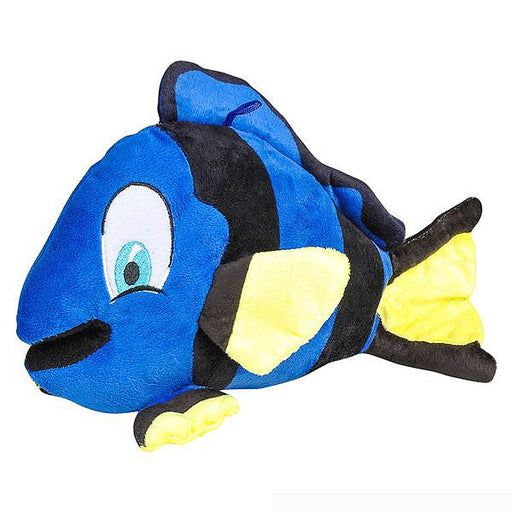 Familiar underwater blue tang fish kids of all ages adore.