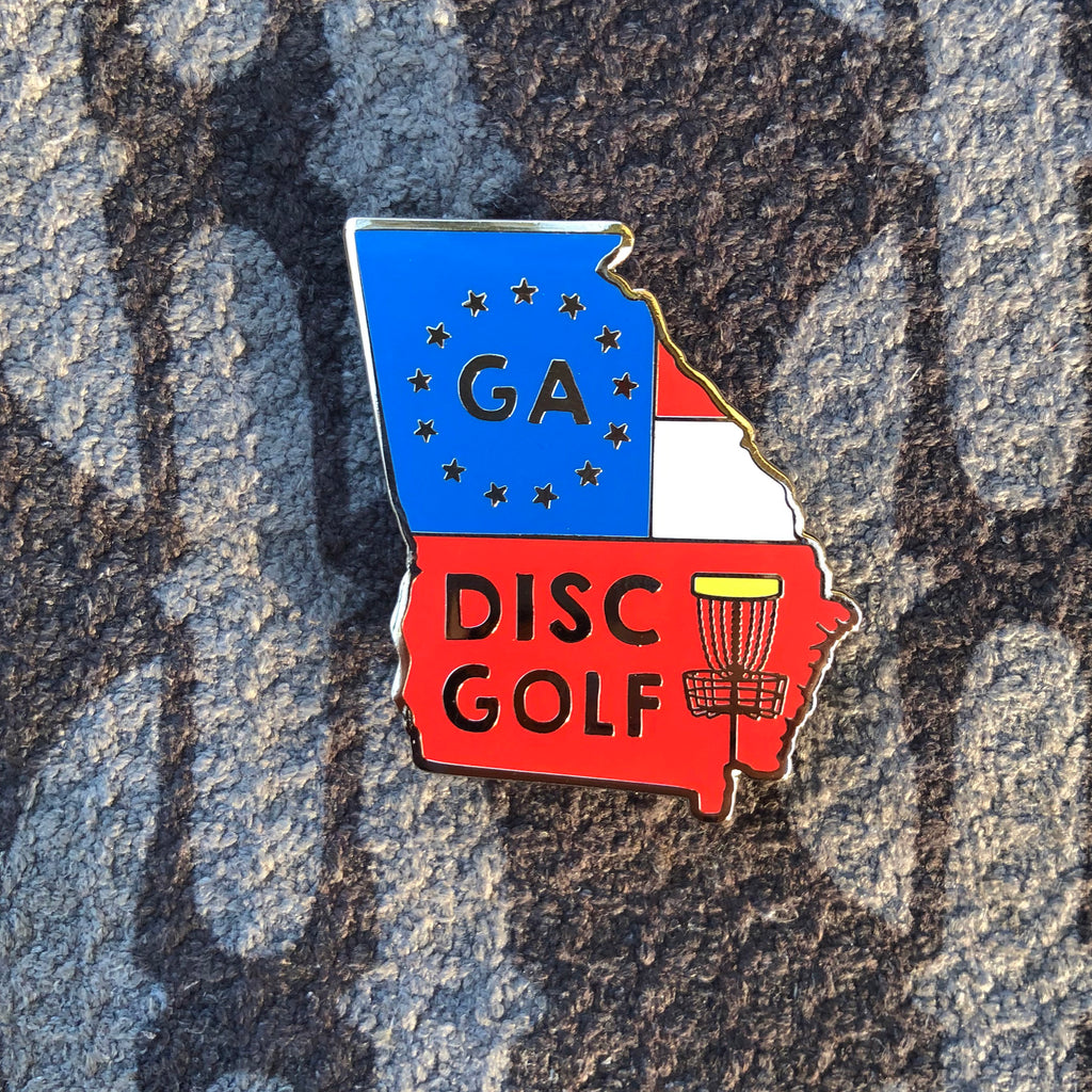 Georgia Disc Golf Pin