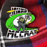 JohnE McCray 'Jem Yoda' Series 2 Disc Golf Pin