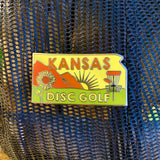 Kansas Disc Golf Pin