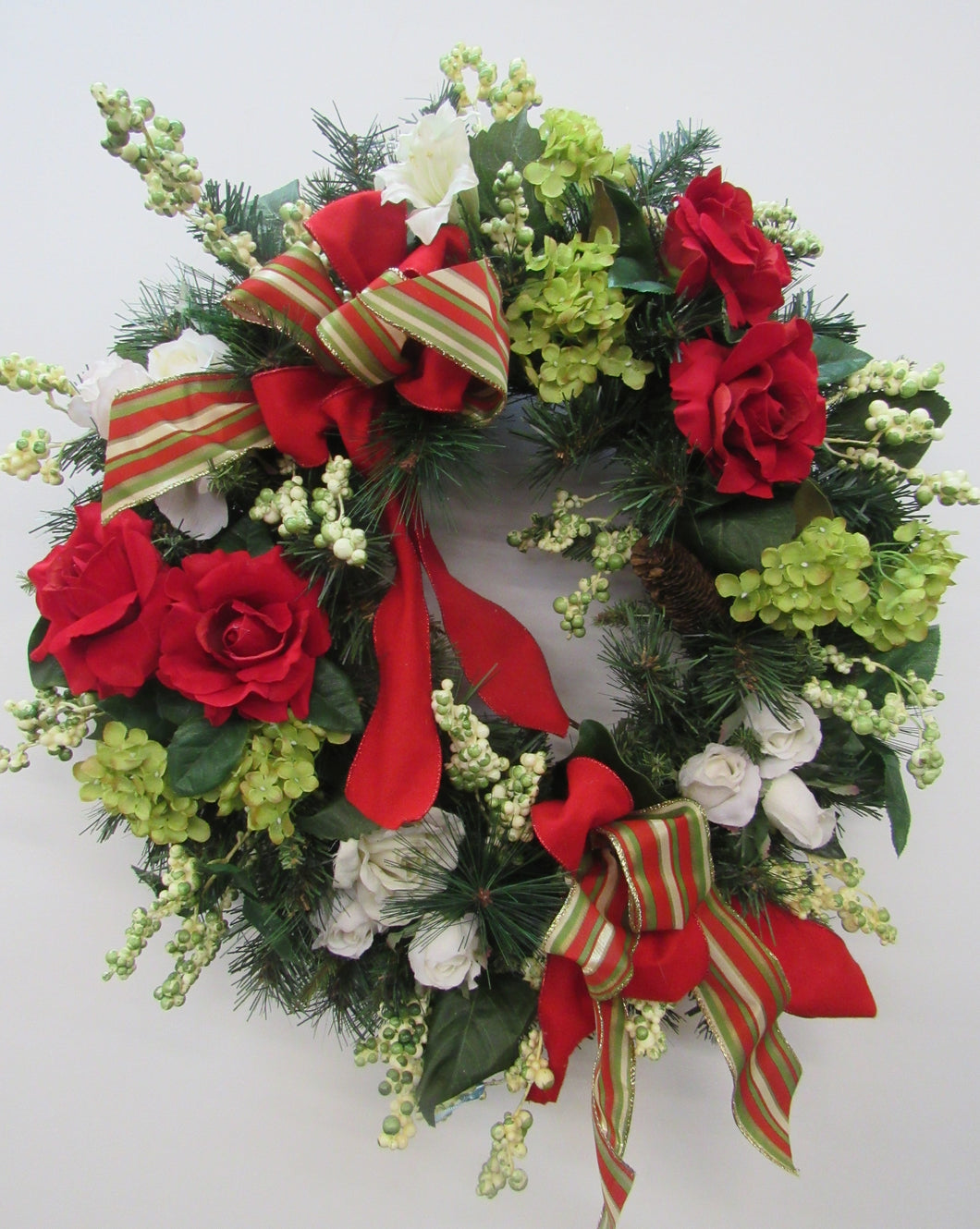 Gallery/ Hol111 - April's Garden Wreath