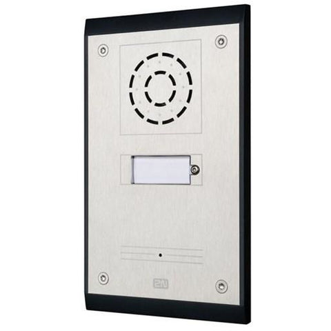 IP UNI 1 Button (Contains Brick Flush Mount Box)