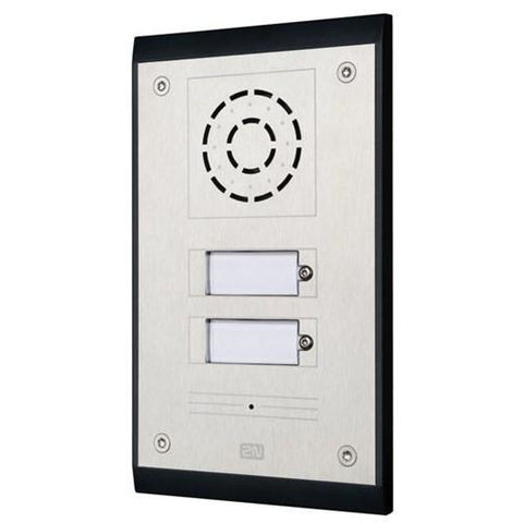 IP UNI 2 Button (Contains Brick Flush Mount Box)