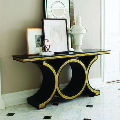 Buy Link Console-Black/Gold Leaf Online at best prices in Riyadh