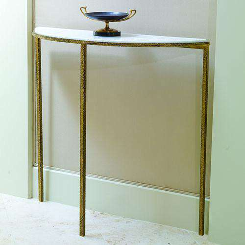 Buy Hammered Gold Console Online at best prices in Riyadh