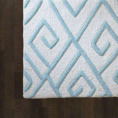Buy Maze Rug-Blue-9' x 12' Online at best prices in Riyadh