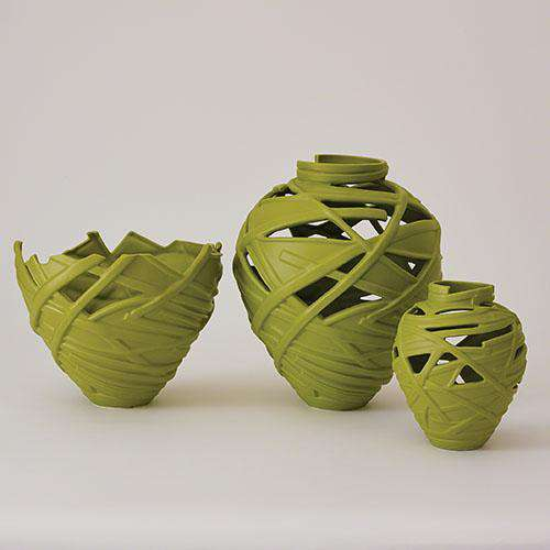 Vase rolls - light green - large