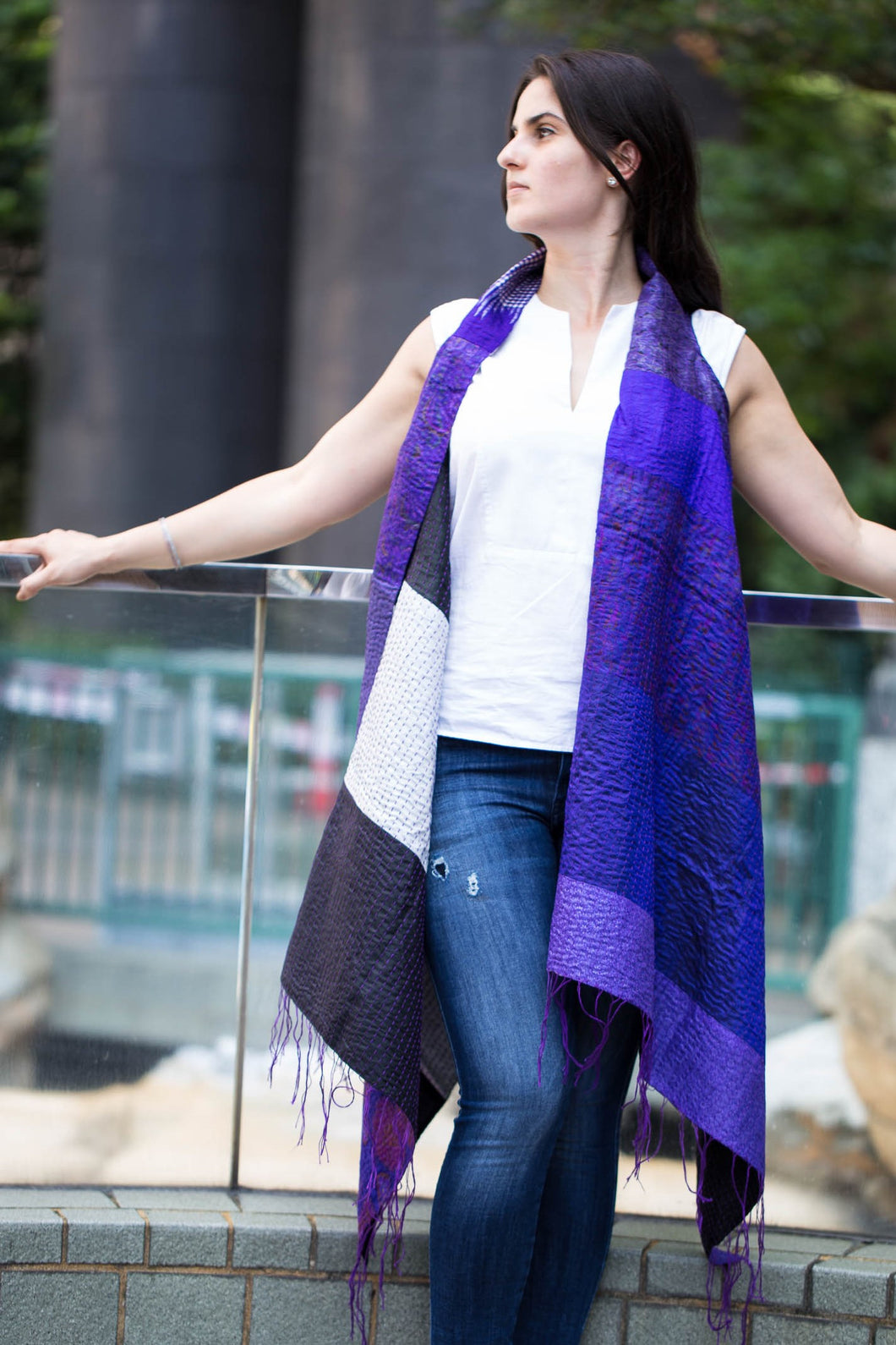 Fusion Cloak Online in Purple and Black