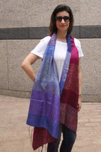 Silk Fusion Cloak Online in Purple and Pink Color