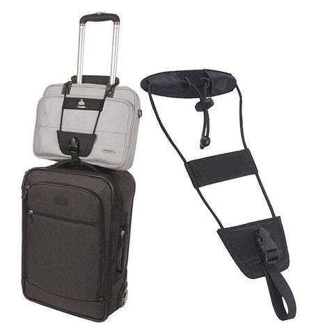 Adjustable Travel Carry On Luggage Bungee Strap