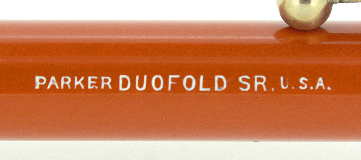 CIRCA 1923 PARKER DUOFOLD SENIOR BIG RED PENCIL NEAR MINT RESTORED OFFERED BY ANTIQUE DIGGER