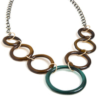 Brass Lucky 7 Necklace
