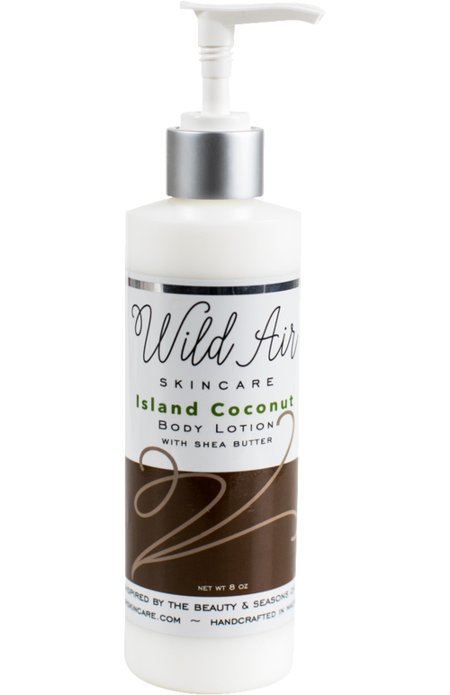 Island Coconut Body Lotion