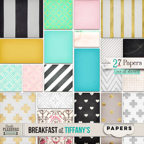 BREAKFAST AT TIFFANY'S: Paper Pack