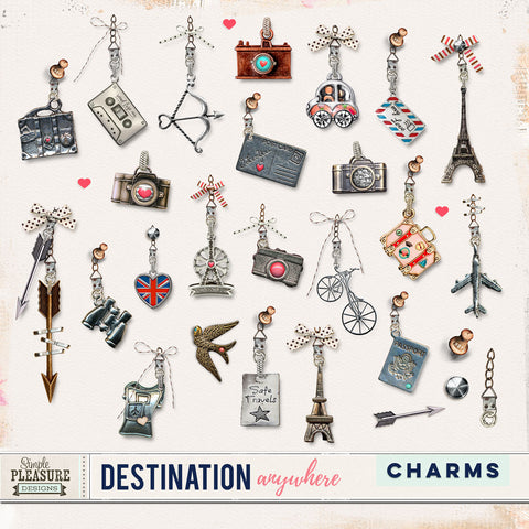 Destination Anywhere Charms