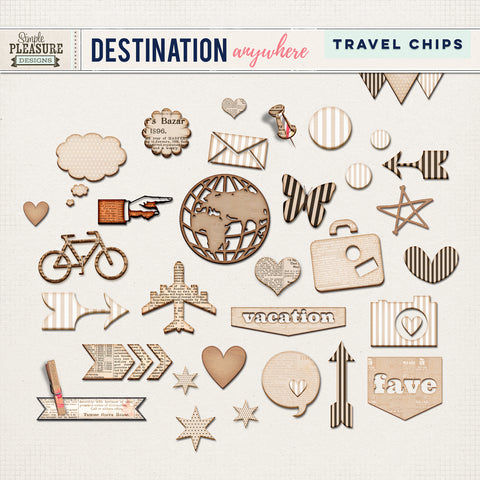 Destination Anywhere Travel Chips