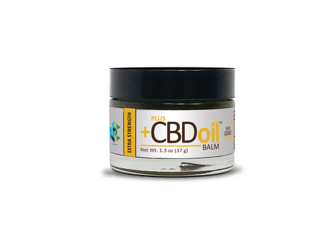 CBD+ Hemp Gold Balm - Extra Strength