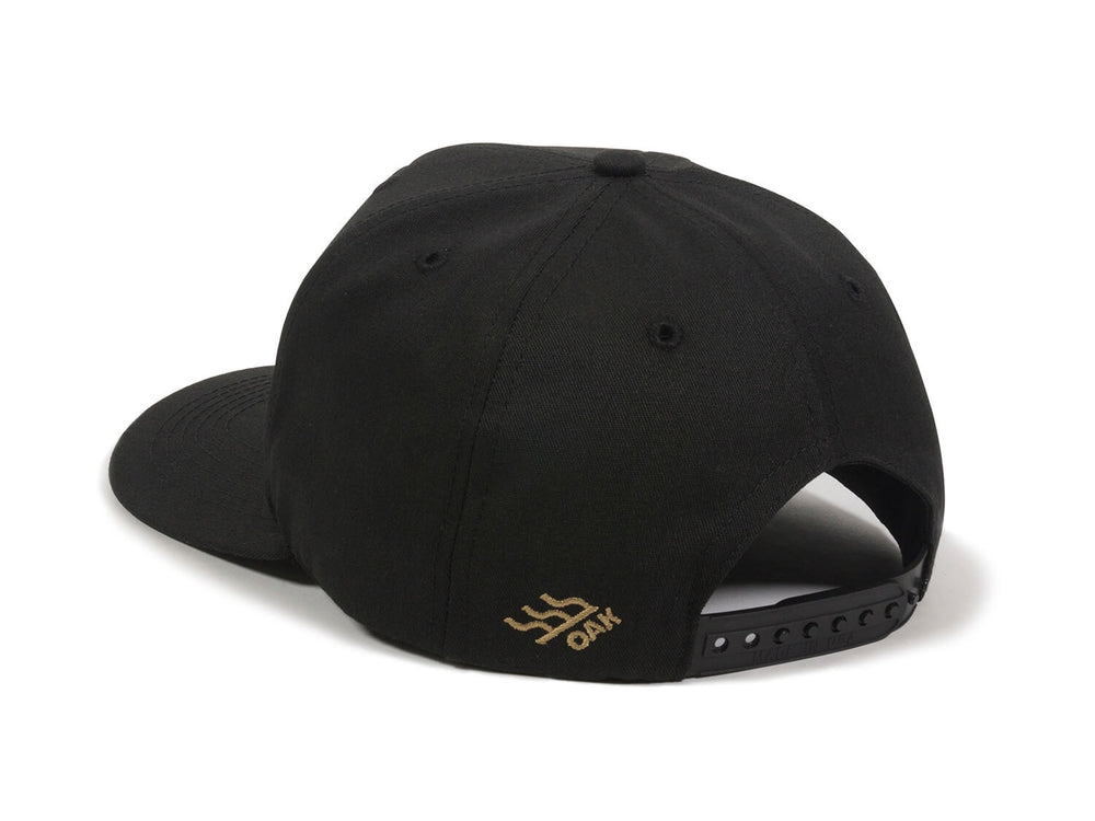 Eagle Scout Patch Snapback Cap Black Logo Side Hit