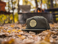 Mojave Scout Patch Snapback Cap Olive Green LIfestyle Image