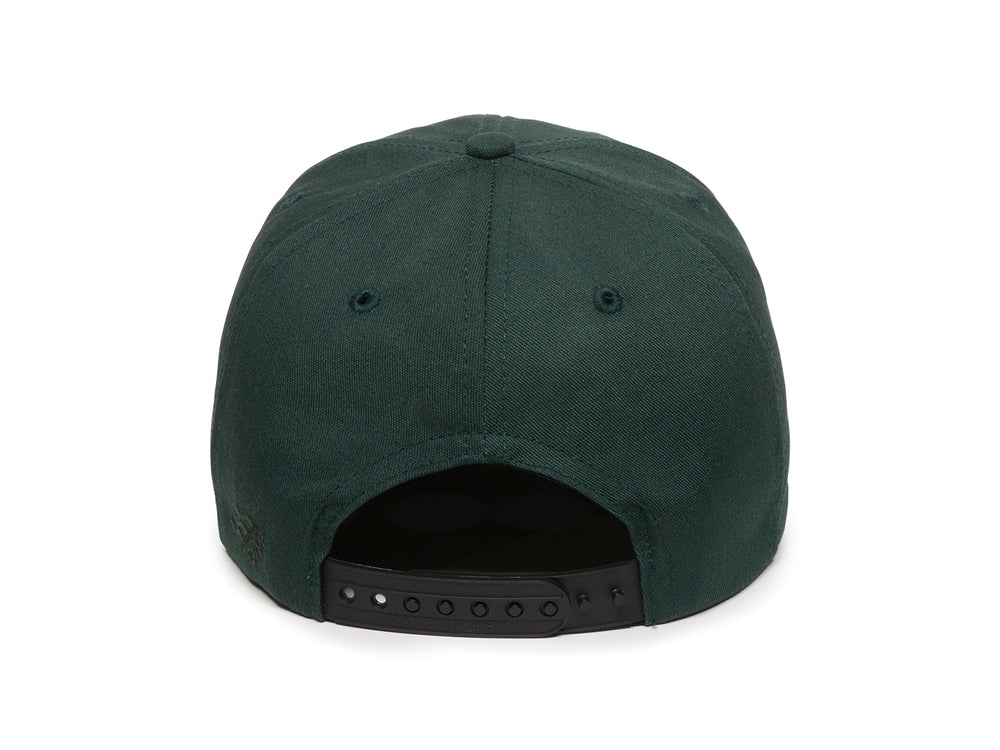 Sierra Scout Patch Snapback Cap Spruce Green Back View