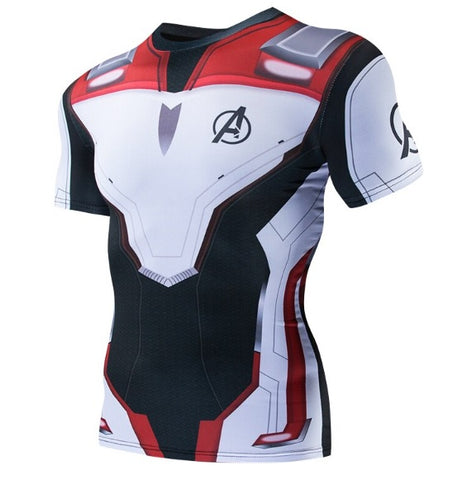 Avengers End Game 'Quantum Realm Suit' Short Sleeve Dri-Fit