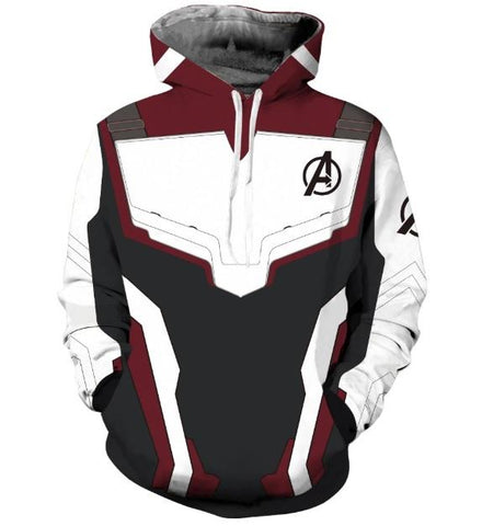 Avengers End Game 'Quantum Realm Suit' Hoodie-RashGuardStore
