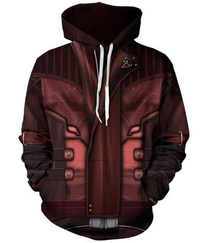 Star Lord 'Guardians of the Galaxy' Hoodie-RashGuardStore