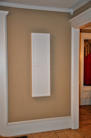 Double Panel Door Ironing Board - Surface Mount