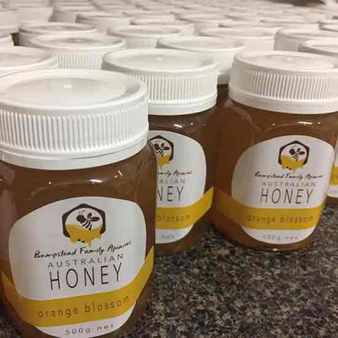 Raw local honey available in Kinglake Victoria, north of Melbourne