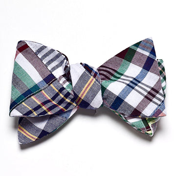 Patchwork Madras Bow Tie- Chatham