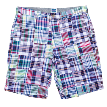 Patchwork Madras Shorts - Chatham