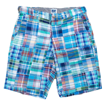 Patchwork Madras Shorts - Bethany