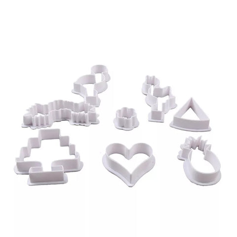 8 Piece Cookie Cutter Set - Flamingo Collection