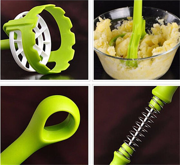 Potato Press Tool - Modern Potato Masher in Kitchen Utensil