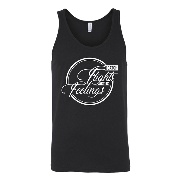 Catch Flights Not Feelings Tank Top - OWTwear