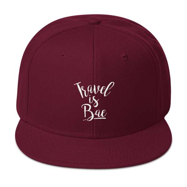 Travel is Bae Snapback Hat - OWTwear