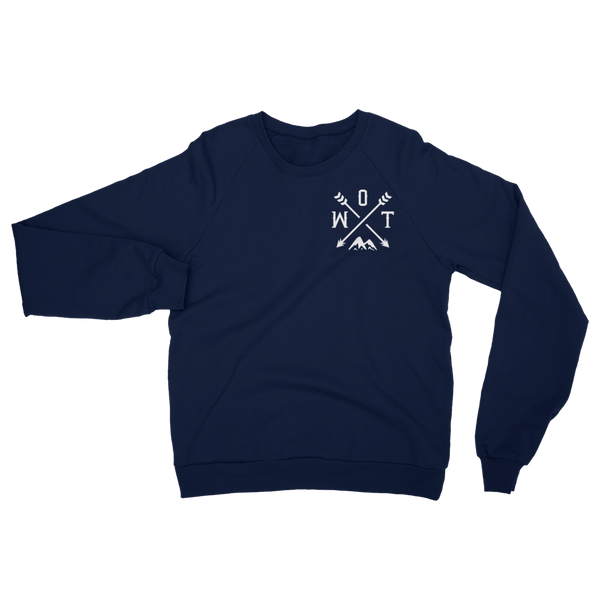 OWT Unisex California Fleece Raglan Sweatshirt - OWTwear