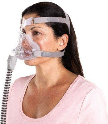 Quattro™ Air for Her Full Face Mask System with Headgear
