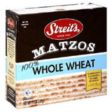 STREIT'S MATZOS WHOLE WHEAT