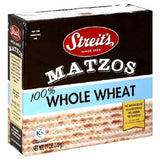 STREITS MATZO WHOLE WHEAT