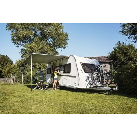Image of Thule Omnistor 1200 Caravan Awning + FREE Storm Straps made by Thule. A Caravan Awning sold by Quality Caravan Awnings