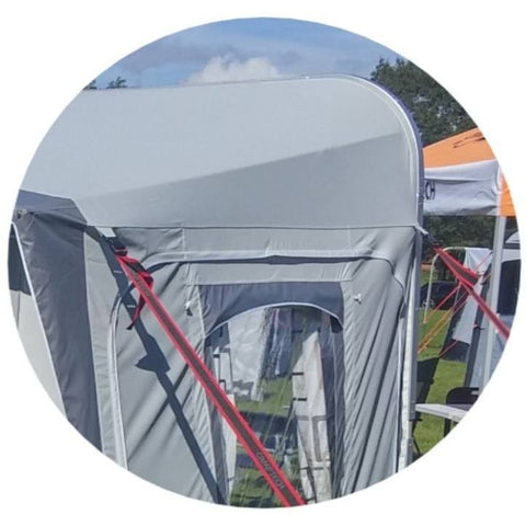 Camptech Atlantis DL Seasonal Traditional Full Caravan Awning + FREE Straps (2019) made by CampTech. A Caravan Awning sold by Quality Caravan Awnings