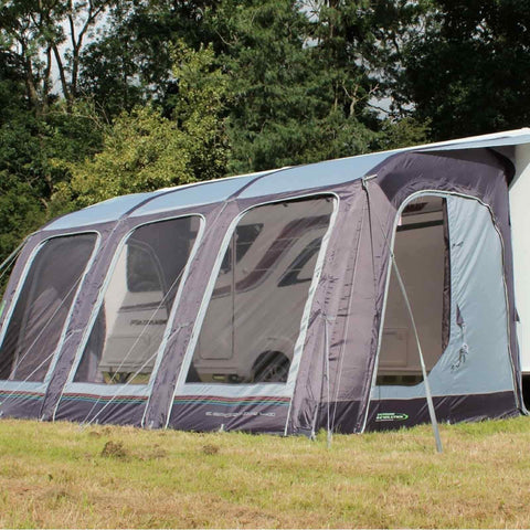 Outdoor Revolution E-Sport Air 400 Caravan Awning & Groundsheet & Annex Bundle (2019) made by Outdoor Revolution. A Air Awning sold by Quality Caravan Awnings