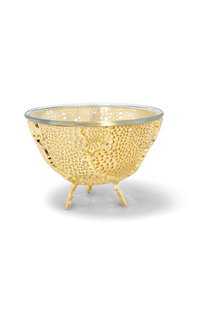 Anna by RabLabs Bowl Gold Nut Bowl
