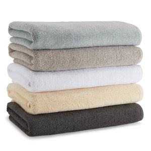 Kassatex Bathroom Towels COBBLESTONE TEXTURED TOWELS