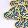 Courage Embroidered Patch